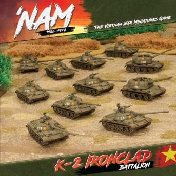Flames Of War (Team Yankee): 'Nam 1965-1972 North Vietnamese Army K-2 Ironclad Battalion