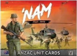 Flames Of War (Team Yankee): 'Nam 1965-1972 - ANZAC Unit Cards (31 Cards)