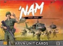 Flames Of War (Team Yankee): 'Nam 1965-1972 - ARVN Unit Cards (54 Cards)