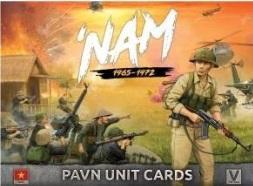 Flames Of War (Team Yankee): 'Nam 1965-1972 - PAVN Unit Cards (43 Cards)