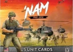 Flames Of War (Team Yankee): 'Nam 1965-1972 - US Unit Cards (117 Cards)