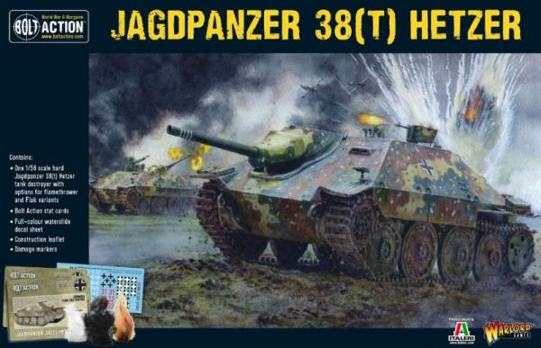 Bolt Action, 2nd Edition: Hetzer German Tank