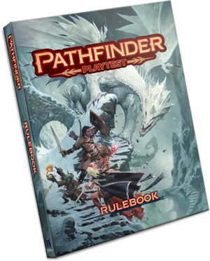 Pathfinder RPG: Pathfinder Playtest Rulebook (SC) (Limited)