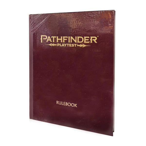 Pathfinder RPG: Pathfinder Playtest Rulebook Special Edition (HC) (Limited)