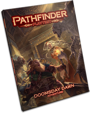 Pathfinder RPG: Pathfinder Playtest Adventure - Doomsday Dawn (Limited)
