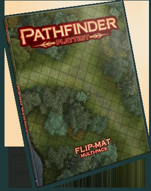 Pathfinder RPG: Pathfinder Playtest Flip-Mat Multi-Pack