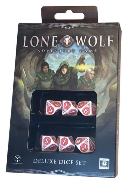 The Lone Wolf Adventure Game: Deluxe Dice Set