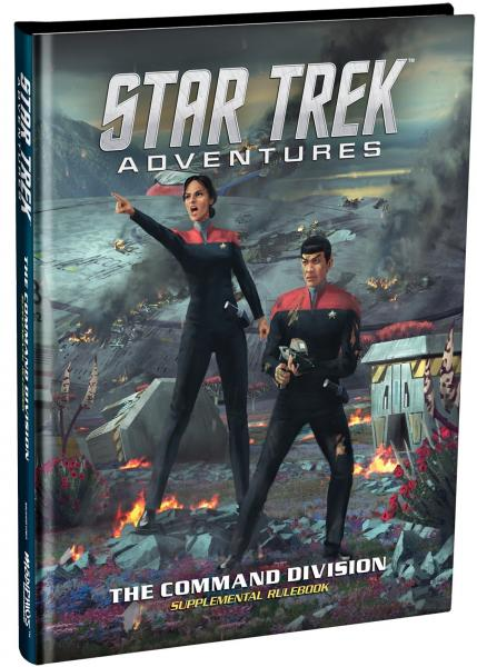 Star Trek Adventures RPG: Command Division Supplement (HC)