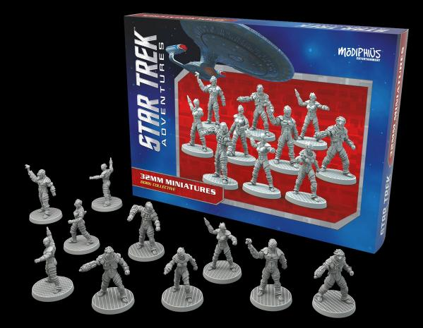 Star Trek Adventures RPG: Borg Collective 32MM Minis Box Set