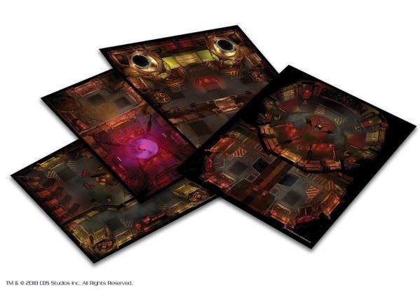 Star Trek Adventures RPG: Next Generation Klingon Tile Set