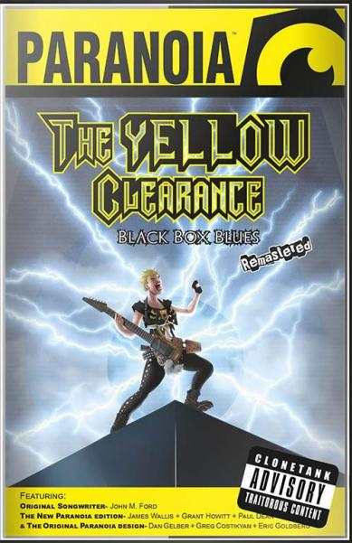 Paranoia RPG: Yellow Clearance Black Box Blues (Remastered)