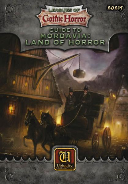 Ubiquity System RPG: Guide to Mordavia - Land of Horror