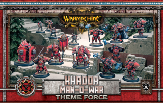 Warmachine: (Khador) Man-O-War Theme Force Box (metal/resin/plastic)