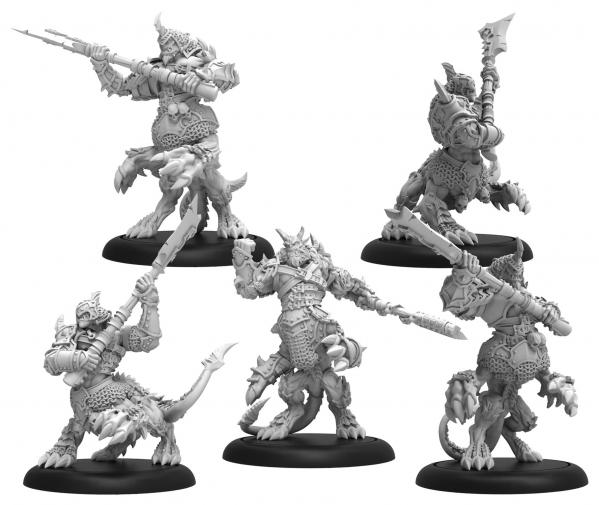 Hordes: Chosen of Everblight – Legion Cavalry Unit (resin/metal)