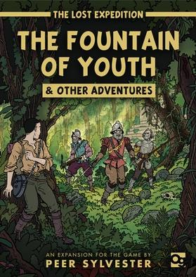 [Osprey Games] The Lost Expedition: The Fountain of Youth and Other Adventures (Expansion)