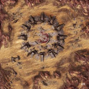 Star Wars: Legion - Desert Ruins Gamemat