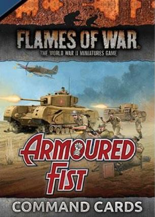 Flames Of War: Armoured Fist Command Cards