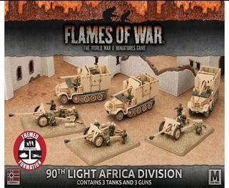 Flames Of War (WWII): 90th Light Africa Division