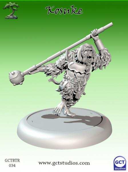 Bushido Miniatures: (Temple Of Ro-Kan) Kosuke