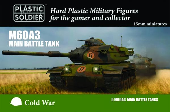 15mm Modern Cold War: M60A3 Main Battle Tank