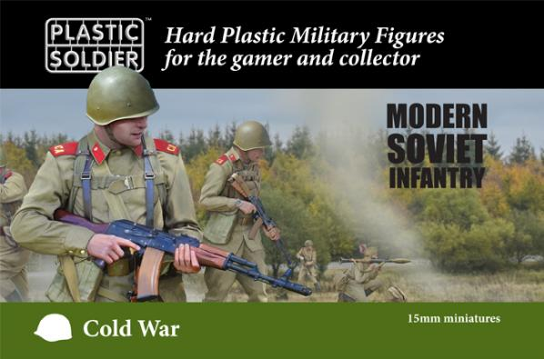 15mm Modern Cold War: Soviet Infantry