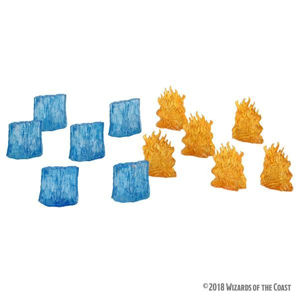 Dungeons & Dragons: Icons of the Realms Spell Effects – Wall of Fire and Wall of Ice
