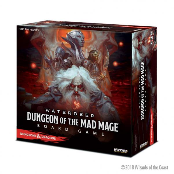 Dungeons & Dragons: Dungeon of the Mad Mage Board Game (Standard Edition)