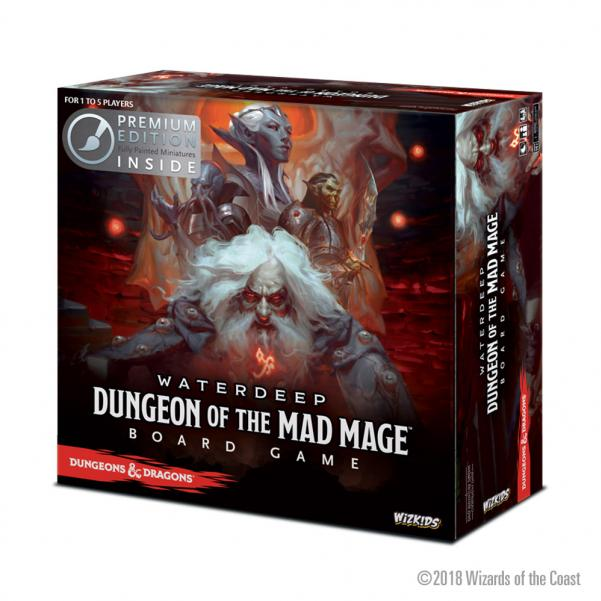 Dungeons & Dragons: Dungeon of the Mad Mage Board Game (Premium Edition)
