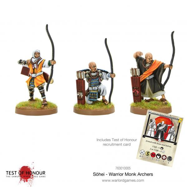 Test of Honour: Sohei Warrior Monk Archers