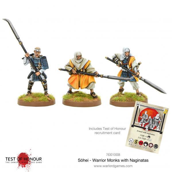 Test of Honour: Sohei Warrior Monks with Naginata