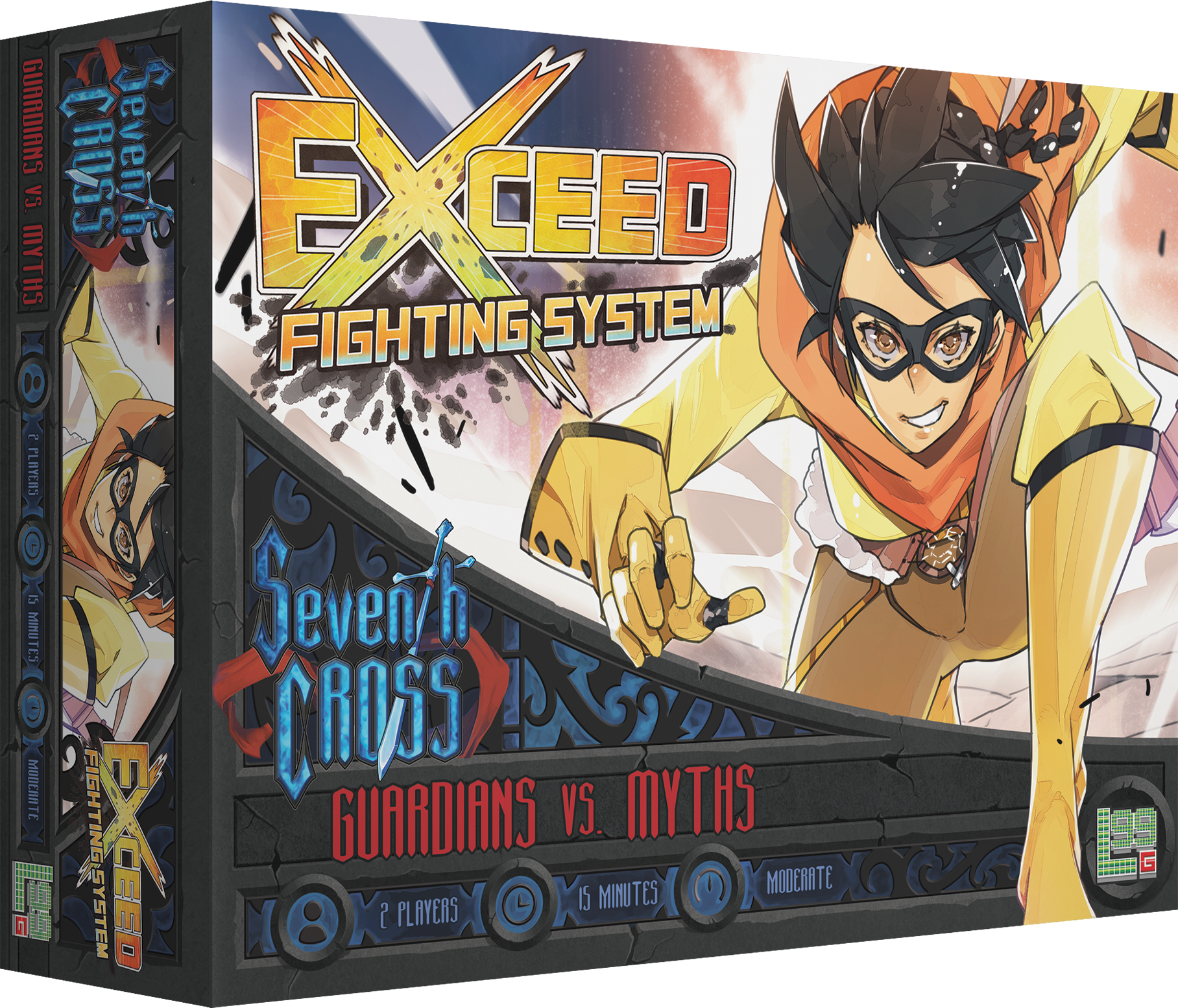 Exceed Fighting Sys: Seventh Cross - Guardians vs. Myths