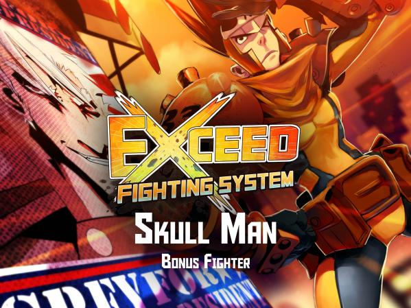 Exceed Fighting Sys: Red Horizon's Skull Man Expansion Pack