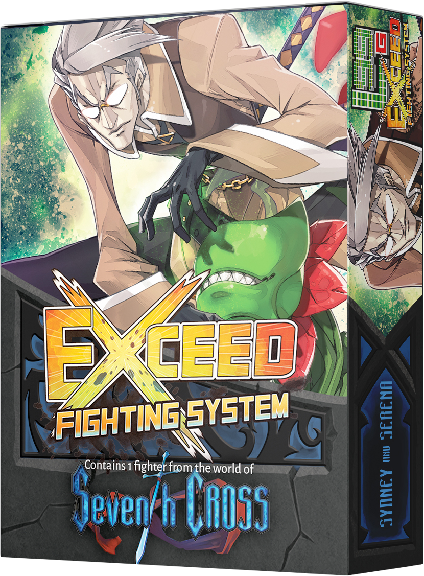 Exceed Fighting Sys: Seventh Cross' Sydney & Serena Expansion Pack