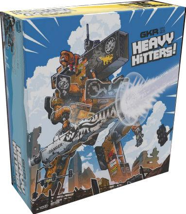 GKR: Heavy Hitters Board Game