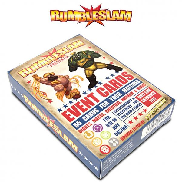 RUMBLESLAM Event Card Deck
