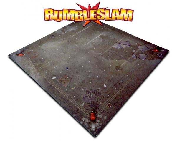RUMBLESLAM Game Mat - Urban Ring