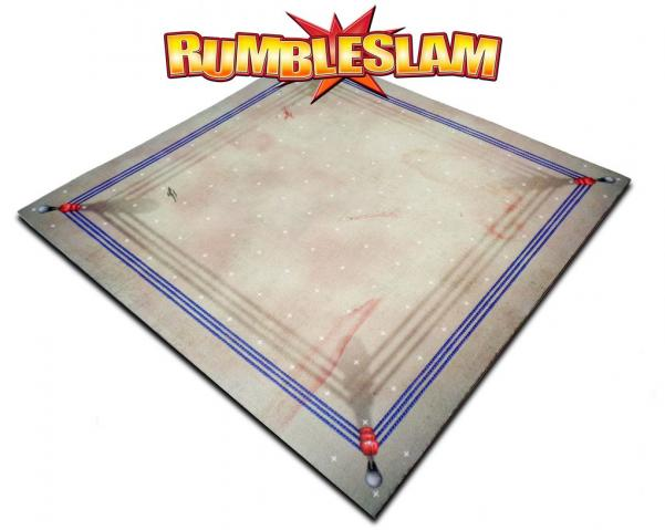 RUMBLESLAM Game Mat - Dirty Ring