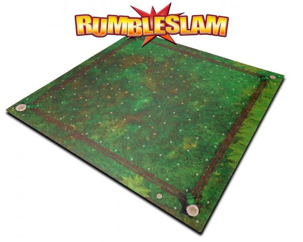 RUMBLESLAM Game Mat - Grassy Ring