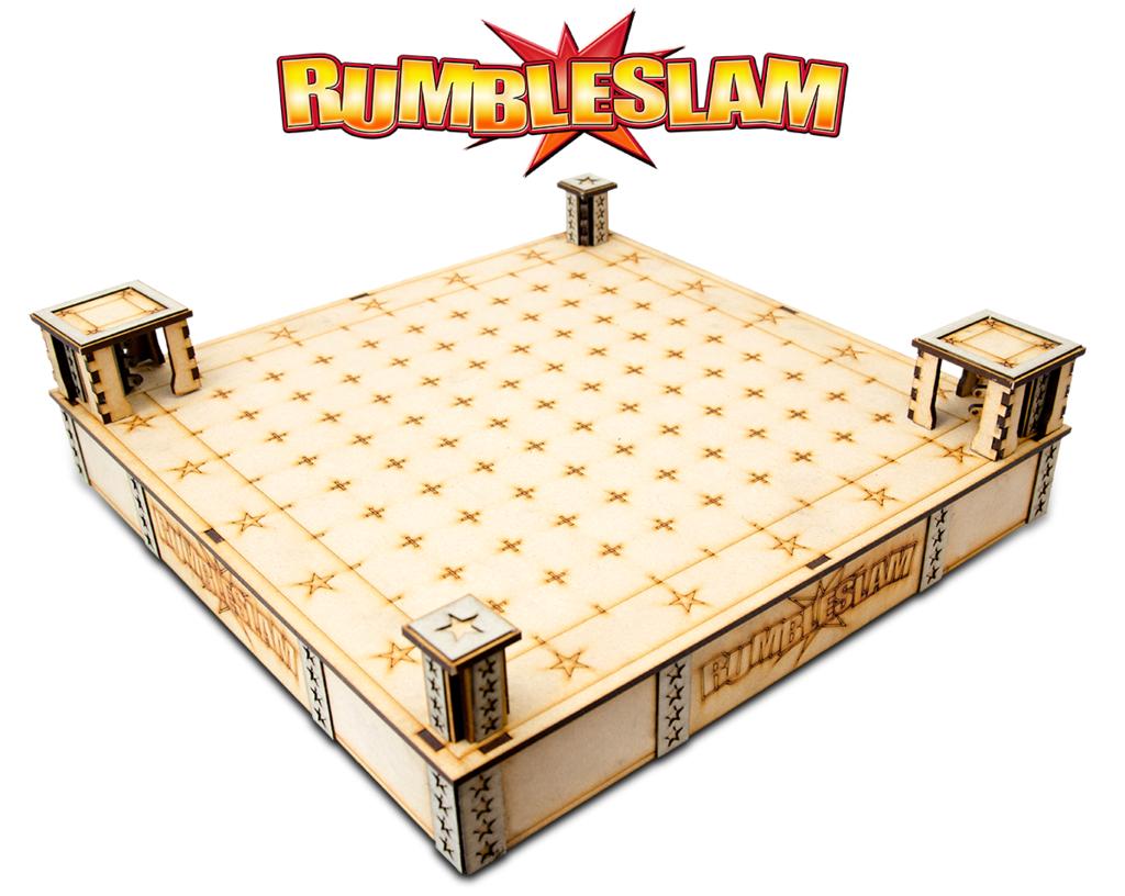 RUMBLESLAM Superstar MDF Ring