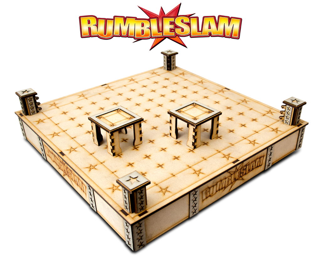 RUMBLESLAM Superstar MDF Ring