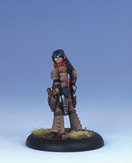 Iron Kingdoms Miniatures: Valeria Alvaro, Ordic Pistoleer