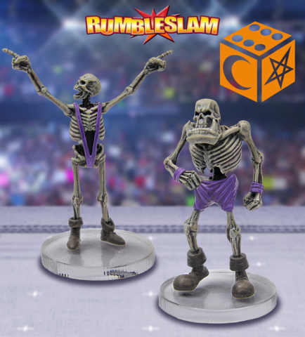 RUMBLESLAM: Skeleton & Orc Skeleton