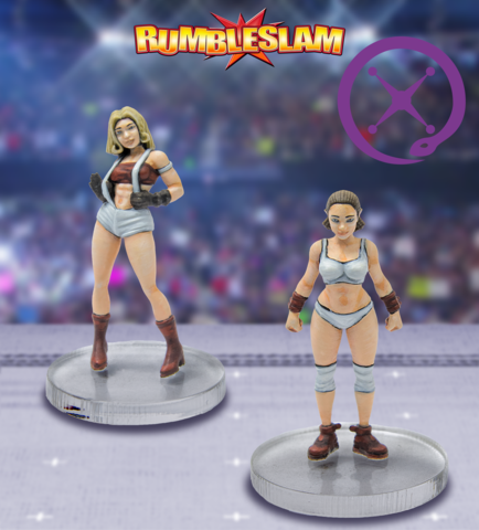 RUMBLESLAM: Female Brawler & Female Grappler