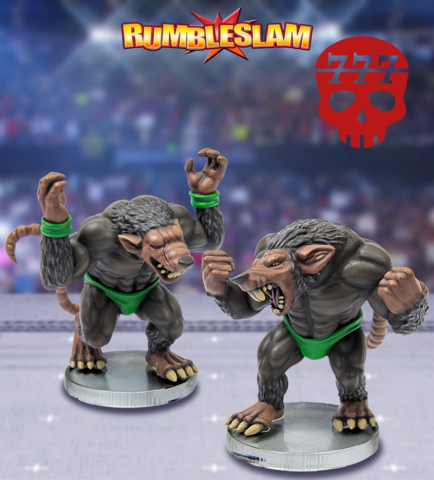 RUMBLESLAM: Ratman Brawler & Ratman Grappler