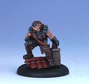 Iron Kingdoms Miniatures: Hemrick Groot, Rhulic Second-story Man