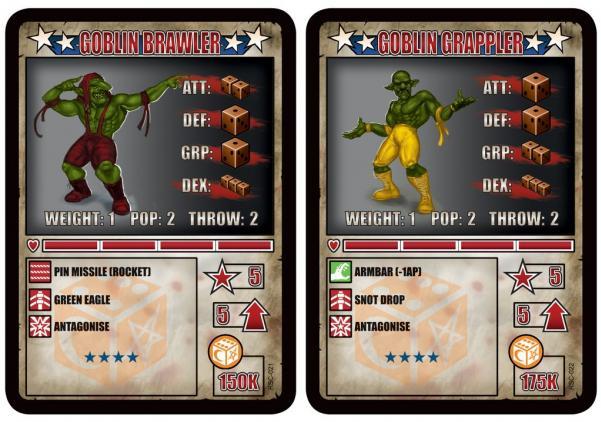 RUMBLESLAM: Goblin Brawler & Goblin Grappler