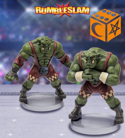 RUMBLESLAM: Orc Brawler & Orc Grappler