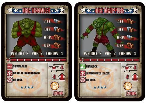 RUMBLESLAM: Orc Brawler & Orc Grappler