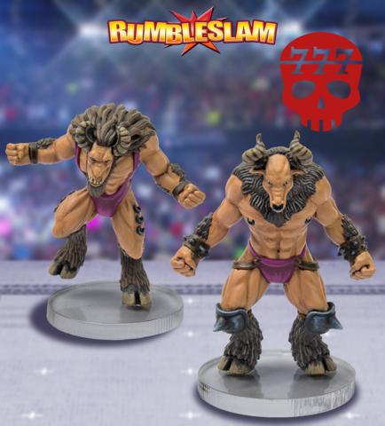 RUMBLESLAM: Goatman Brawler & Goatman Grappler