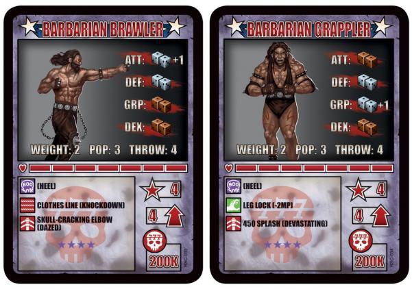 RUMBLESLAM: Barbarian Brawler & Barbarian Grappler